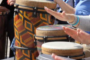 Drum Circle: Saturday 3:00 PM – Main Stage