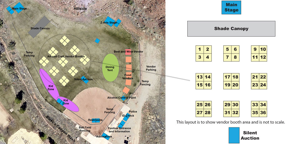ZCMF Field Layout