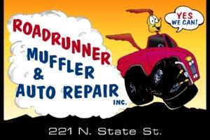 Roadrunner Muffler & Auto Repair – Bronze Sponsor